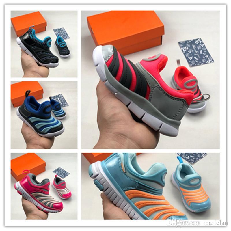 101f6a086 Compre Nuevos Zapatos De Oruga De Color Para Niños En 2019 Niños Y Niñas  Moda Ocio Deportes Al Aire Libre Calzado Cinco Colores Opcionales A  55.84  Del ...