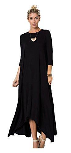 1177290d86f Tabeez Women S Long Loose Casual Asymmetrical Oversize Handkerchief ...