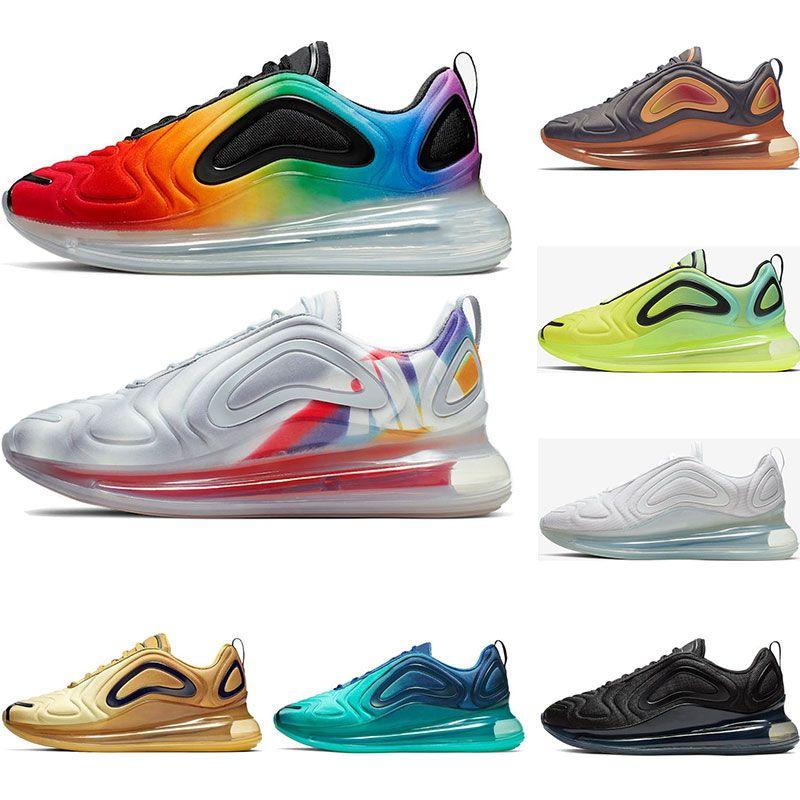 893b7222 Nike Air Max 720 2019 Zapatillas De Running Para Hombre Be True Pride GREEN  CARBON Volttriple Blanco Negro Northern Lights Para Mujer Zapatillas  Deportivas ...