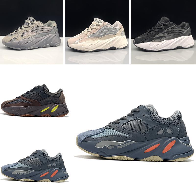 Kanye De Yeezy Entraîneur Wave Adidas Chaussure West Runner Garçon Course Sport Chaussures Enfants 700 2018 Sneaker Fille H2WEDI9