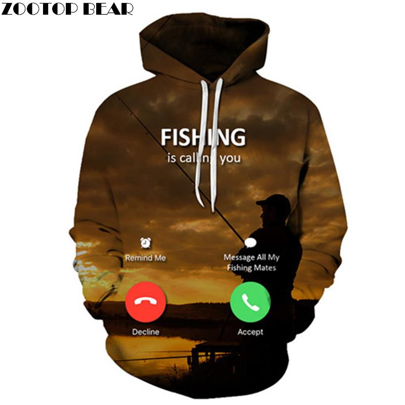 79d4db0c2775 Sunset 3D Hoodies Men Sweatshirts Anime Tracksuit Fish Pullover Brand Hoody  Streatwear Style Unisex Autumn Drop Ship ZOOTOPBEAR C18121701 Online with  ...