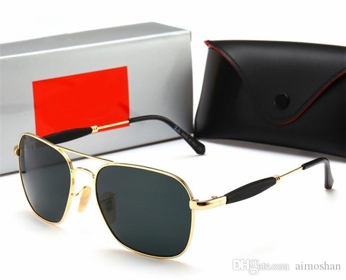 Brand Designer Sunglasses High Quality Metal Hinge Sunglasses Men Glasses Women Sun glasses UV400 lens