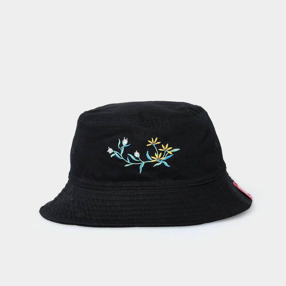 a9fe9d52557 Black Ladies Girl Women Bucket Hat Caps Summer Autumn Spring Fisherman  Cotton Fabric Sunscreen Double Layer Cap Fedoras Beanie Hats From  Splendone