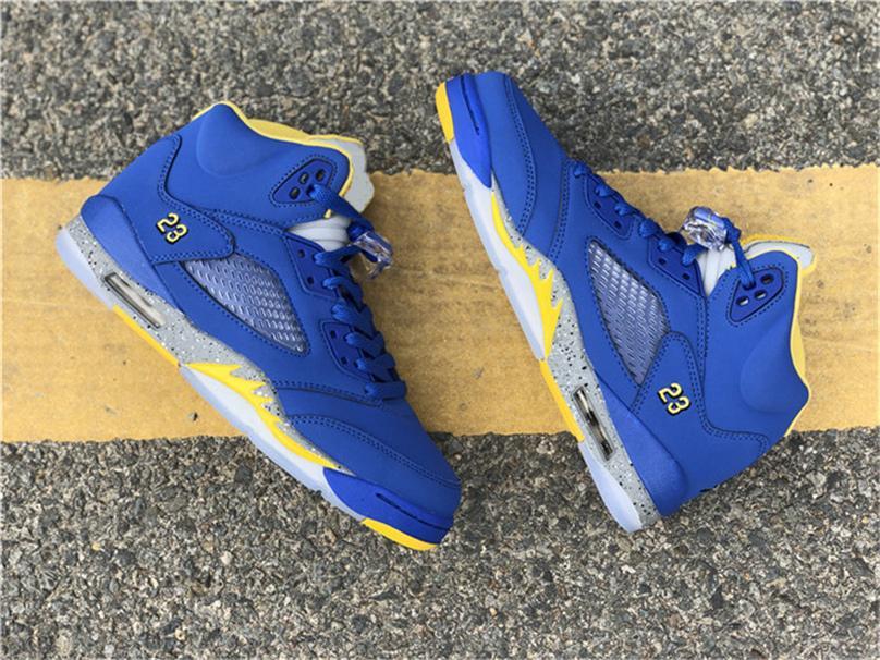 1463c0fc10723a 2019 Authentic 5 V JSP Laney Man Women Basketball Shoes VARSITY ...