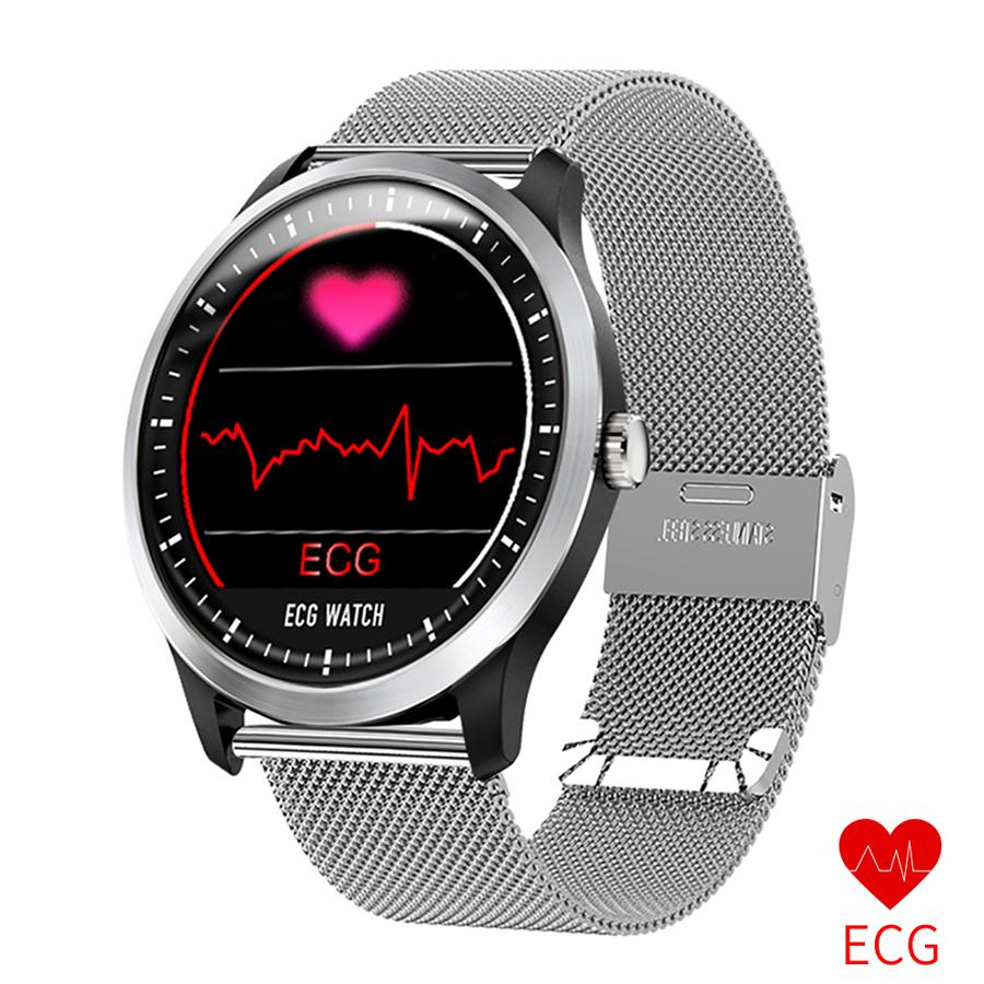 ECG PPG Smart Watch Bracelet with Electrocardiograph Ecg Display Holter  Sport Watch Heart Rate Monitor Bluetooth Smartwatch
