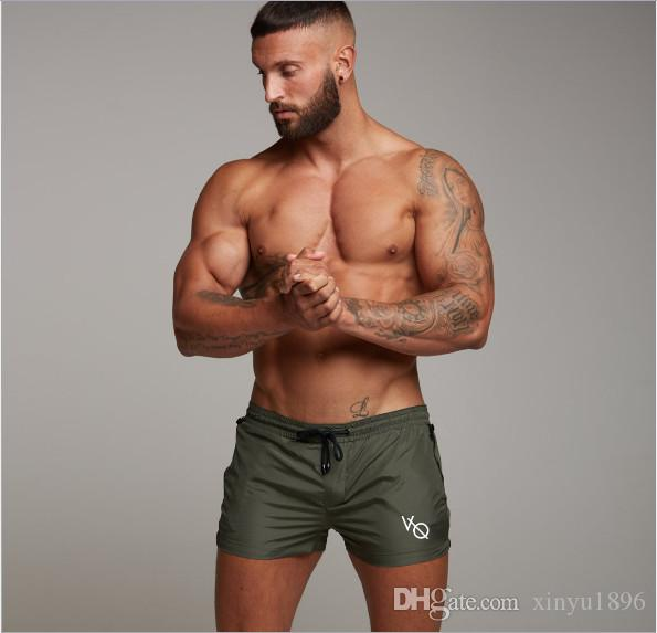 Hot New Men Gyms Fitness Bodybuilding Shorts Mens Summer Casual Cool Short Pants Male Jogger Workout Beach Brand