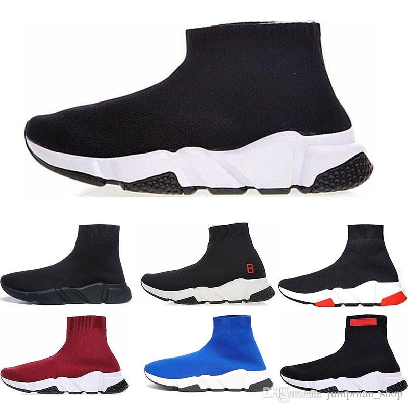 a4e1ee6663 Großhandel Billig Luxus Socken Schuhe Casual Schuh Geschwindigkeit Trainer  Hohe Qualität Turnschuhe Geschwindigkeit Trainer Socke Rennen Läufer  Schwarz ...