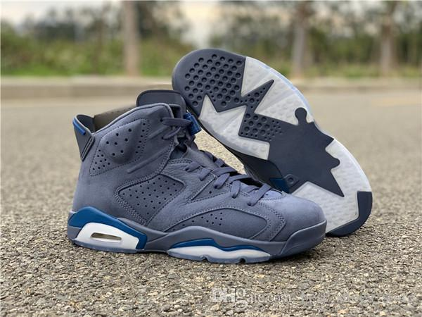 2464878659b23a Jimmy Butler 6 VI Men Basketball Designer Shoes New Blue 6s Outdoor Sports  Trainers Fashion Sneakers High Quality with Box Size 7-13 Jimmy Butler 6  Online ...