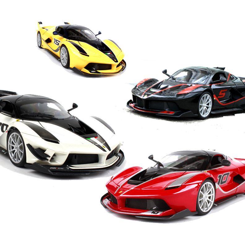 Modelo Aleación Exquisita Regalo Fxxk De Pista Simulación Ferrari 70 1 Decoración Coche 18 9DHW2IE