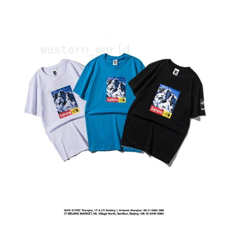 86a8556bb647 100 Cotton More Color 141 Mens Men Womens Women Summer Logo Print ...