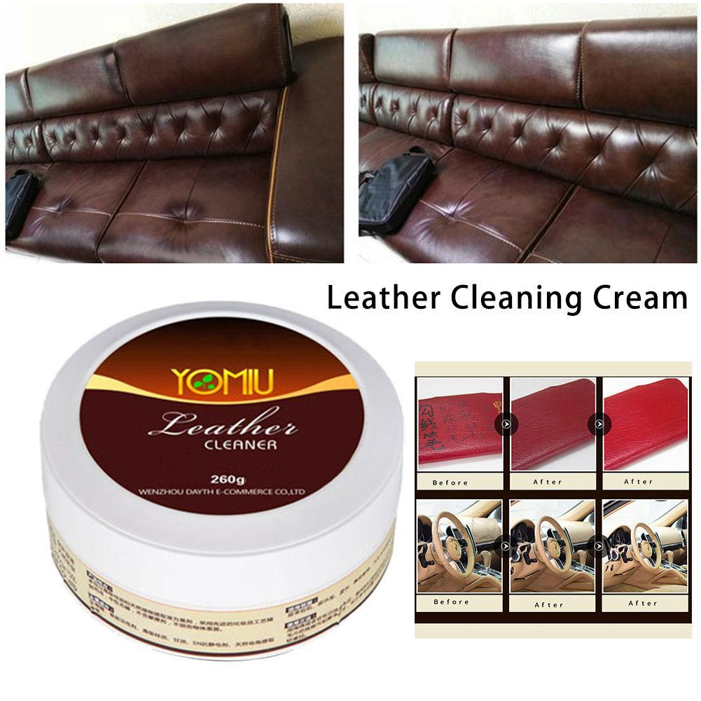Household Leather Refurbishing Cleaner Car Seat Sofa Leather Cleaning Cream All-Purpose Repair Tool Cleaning Cream