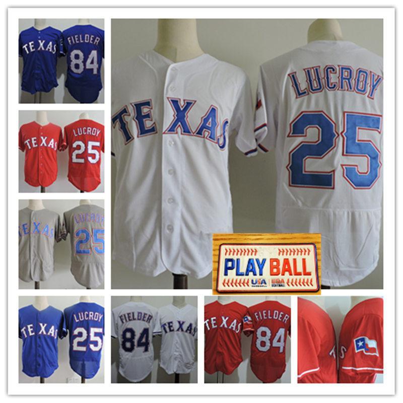 Mens 84 Prince Fielder Jerseys Stitched White Grey  25 Jonathan Lucroy Flex  Base Base Baseball Jersey S 3XL UK 2019 From Xt23518 0d489f169