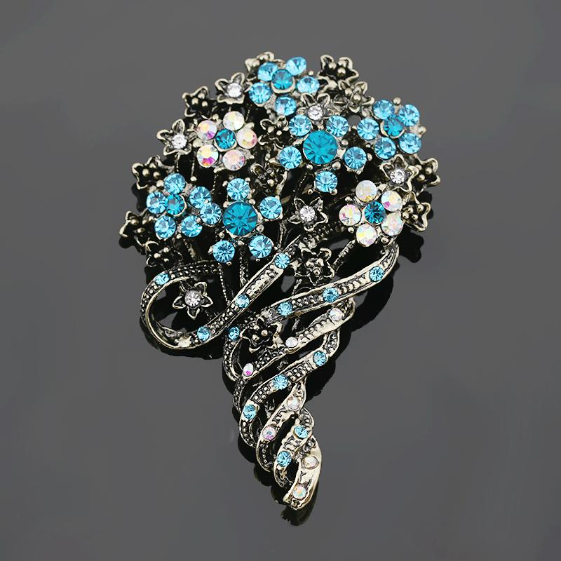 Jewellery & Watches Costume Jewellery But Very Pretty Costume Jewellery Silver Brooch