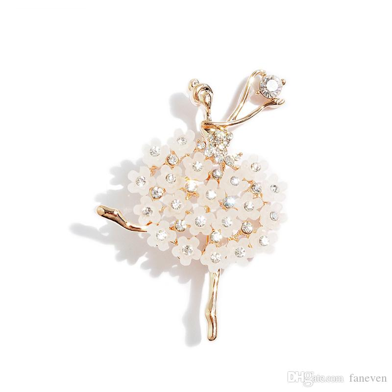 New Fashion personality girl brooches for woman