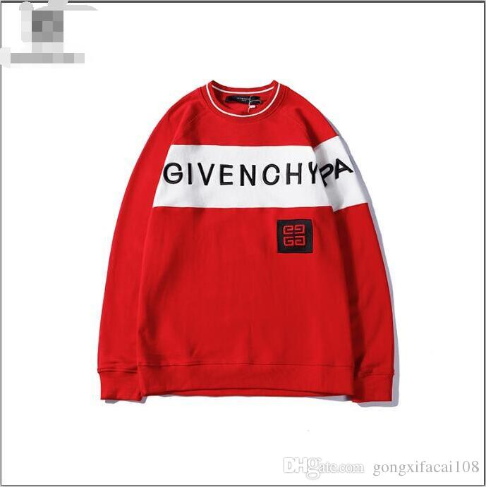 e5b7bbf0504 NEW T-shirt Mens Sweatshirts With Embroidery GIVENCHY Letters ...