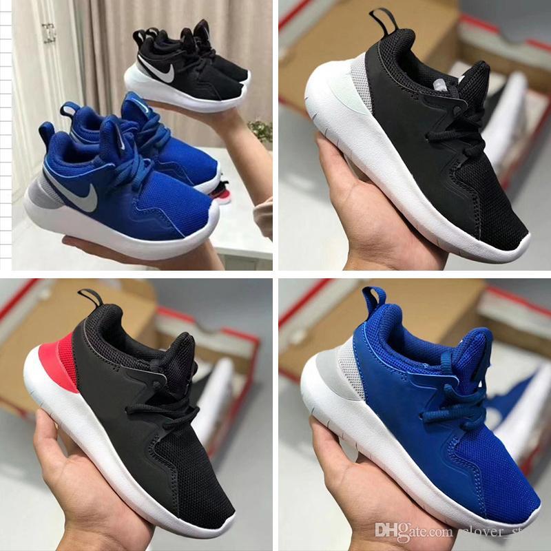 Schuhe Sportschuhe Jungen Kinder Casual Turnschuhe Kinder run Design Mädchen für Komfortable und roshe Laufschuhe Marke nike Kinder xeCoBrd