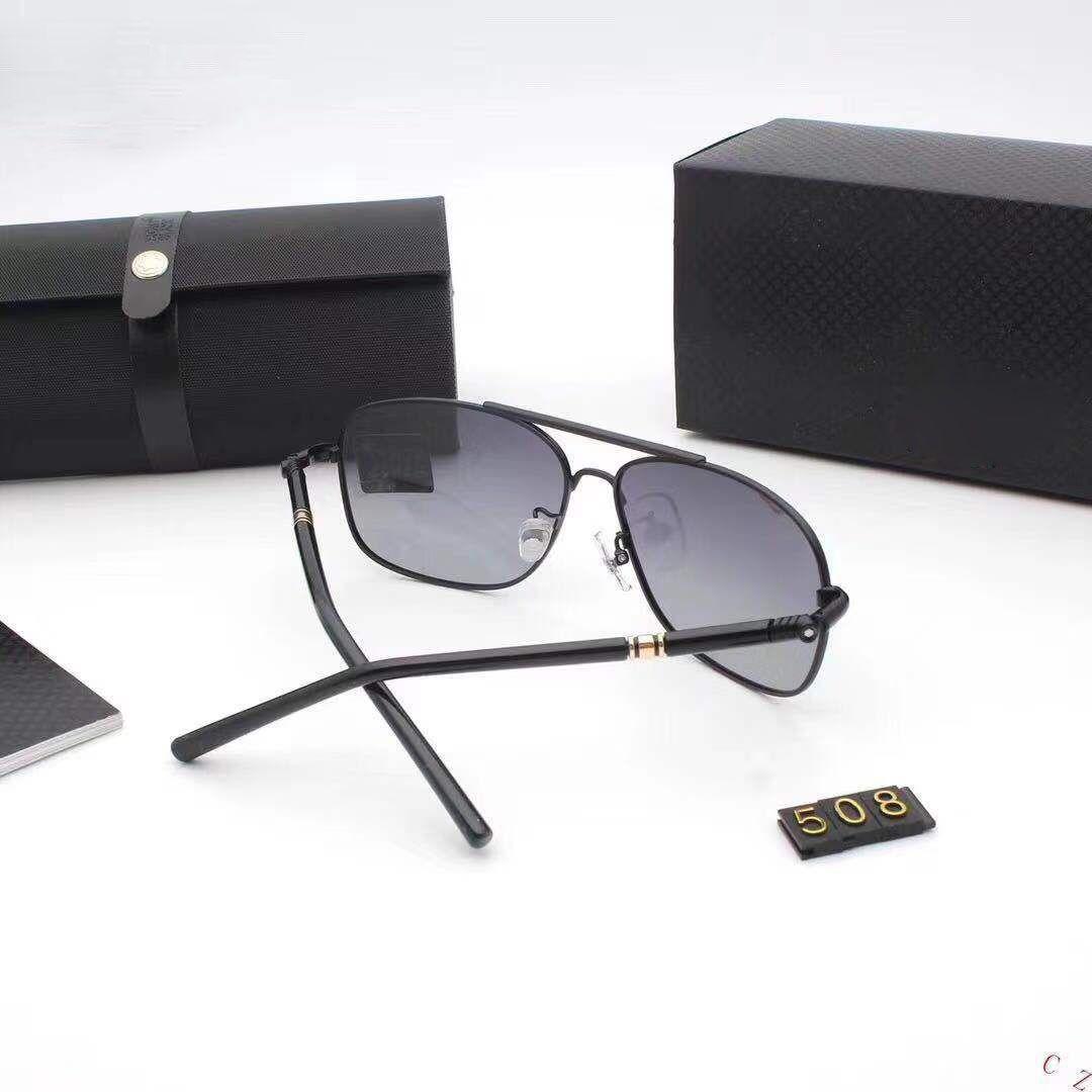a5e2f73822 Compre MONTBLANC 508 Hombres Marco De Anteojos Negro Gafas Optique ...