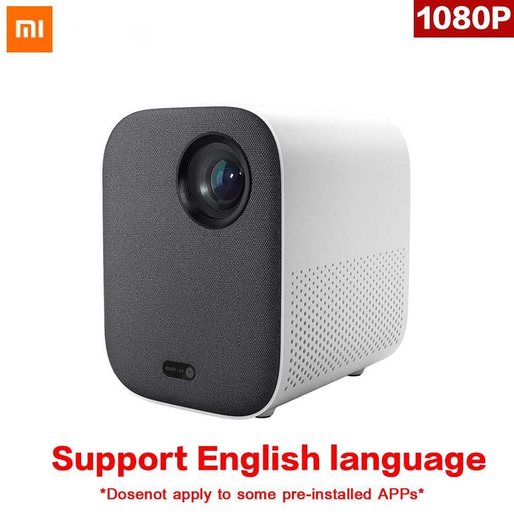 Original Xiaomi Mijia Mini Projector DLP Portable 1080p Support 4K Video 3D  WIFI 500 ANSI LED Beamer TV Full HD for Cinema