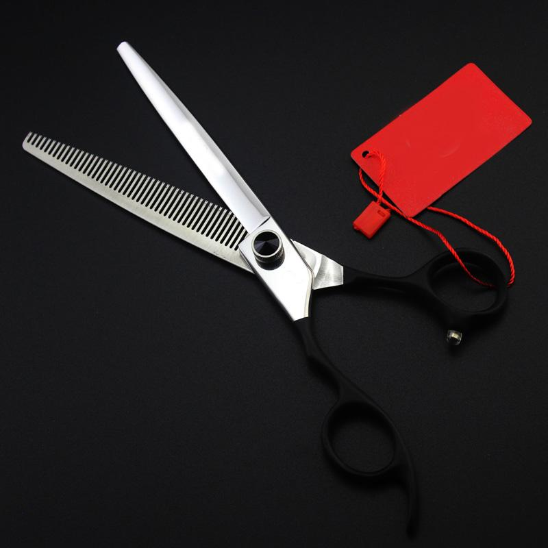 "7"" hair left handed scissors professional salon hairdressing scissors japanese barber thinning hairdressing"