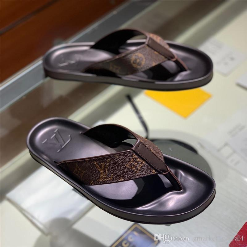 c673bc92d142 Luxury Designer Shoes MOLITOR THONG 1A2CX4 Men S Sandals Casual ...