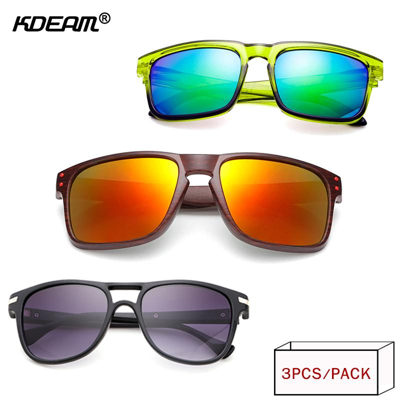 b453ffc33cfb9 KDEAM  Pack Outdoor UV400 Sunglasses For Men Women Combined Packs ...