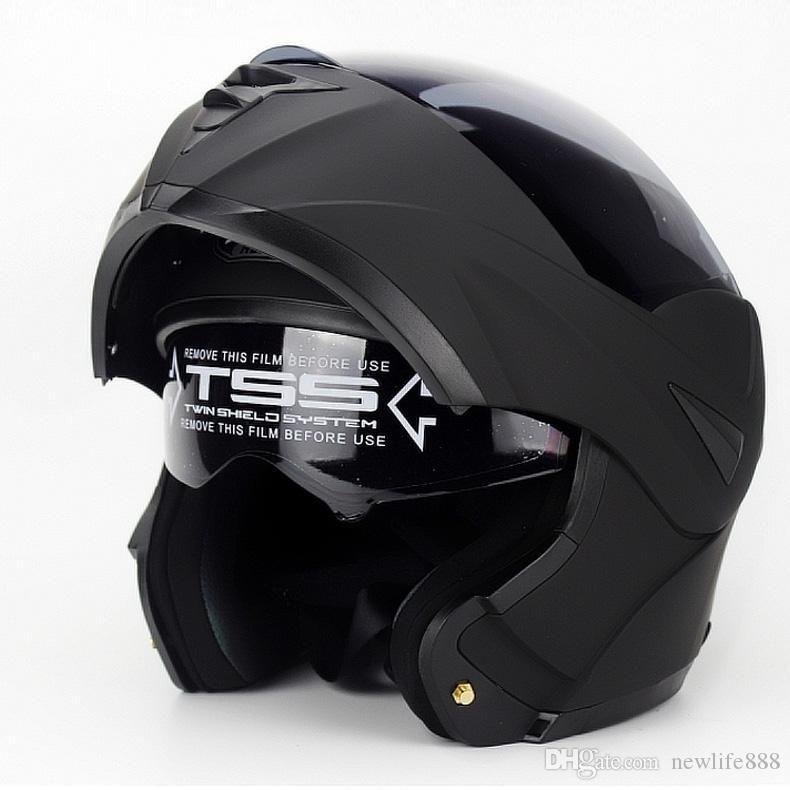 Acheter Nouveau 808 Casque Flip Up Racing Modular Dual Lens Casque