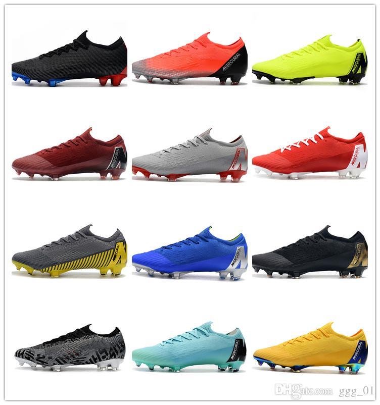 2c410e7a669 2019 2019 New Mercurial Superfly KJ VI 360 Elite FG Mens Soccer Cleats  Cristiano Ronaldo Neymar ACC Soccer Shoes CR7 Football Boots Scarpe Calcio  From ...