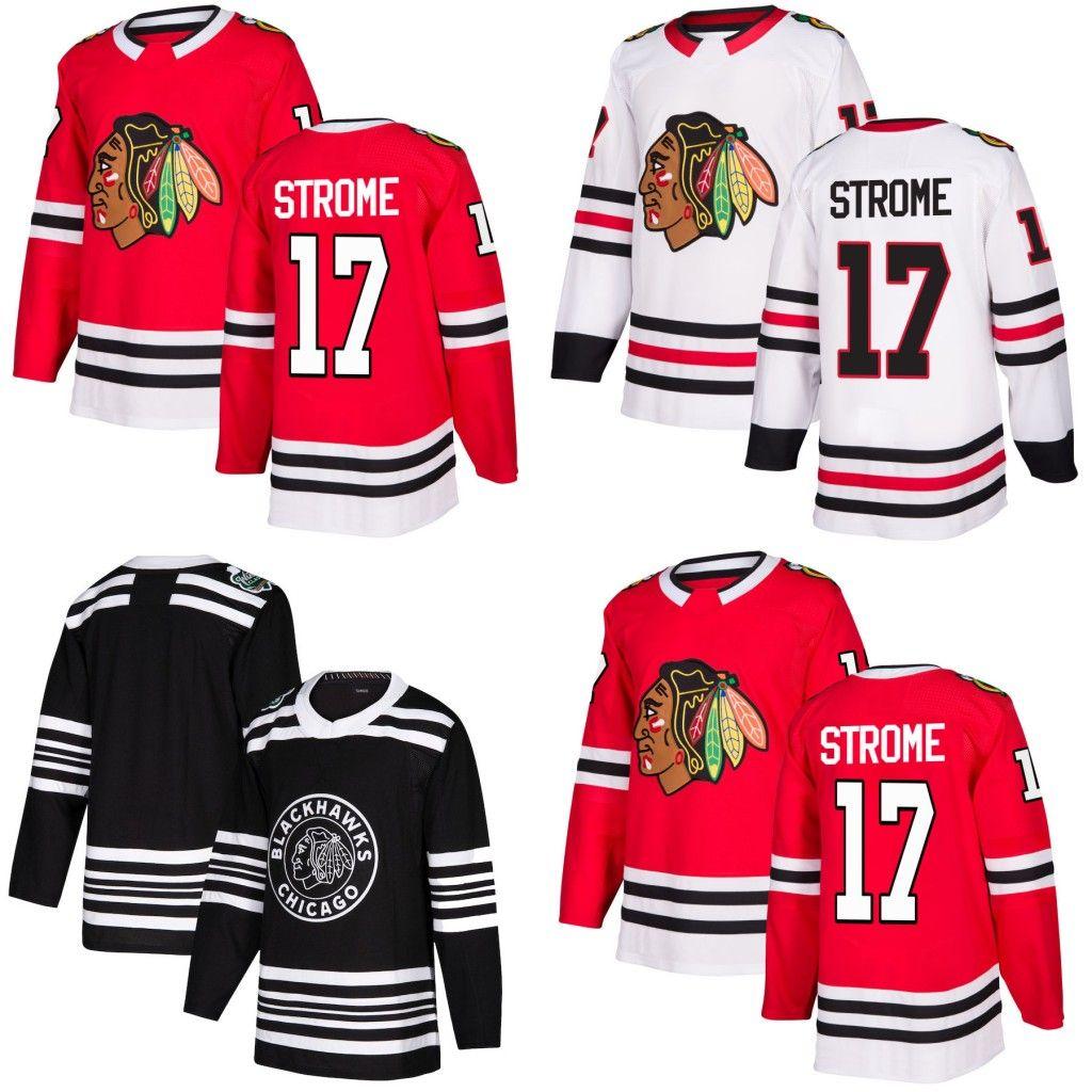2019 17 Dylan Strome Chicago Blackhawks 2019 Winter Classic Jonathan Toews  Alexandre Fortin Chris Kunitz Patrick Kane Saad Alex DeBrincat Jerseys From  ... dbca018d9
