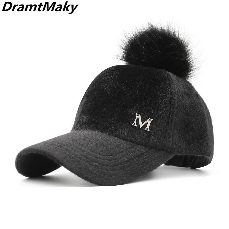 4ba85765a87 New M Baseball Cap Women Snapback Hat Fashion Female Hats Wholesale ...