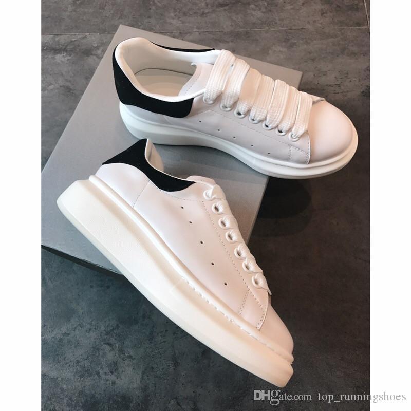Acheter Alexander McQueen 2018 Luxe Designer Hommes Casual Chaussures Pas  Cher Meilleure Qualité Hommes Femmes Mode Sneakers Chaussures De Mariage De  Fête ... fd524ea624a
