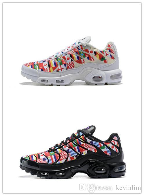 brand new 89800 a574e nike TN plus air max airmax TN Plus NIC QS 90 Designer Schuhe International  Flag Männer Frauen Laufschuhe World Cup Limited NIC QS Turnschuhe Schuhe ...