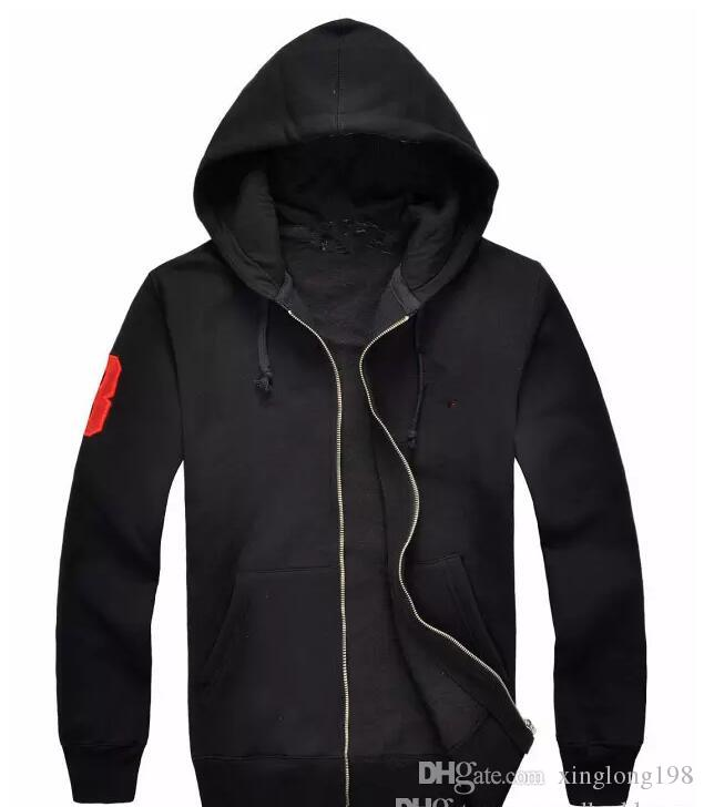 a0470f7f1d1 2019 new brand Hot sale Mens Big Horse polo Hoodies and Sweatshirts autumn  winter casual with a hood sport jacket men s hoodies