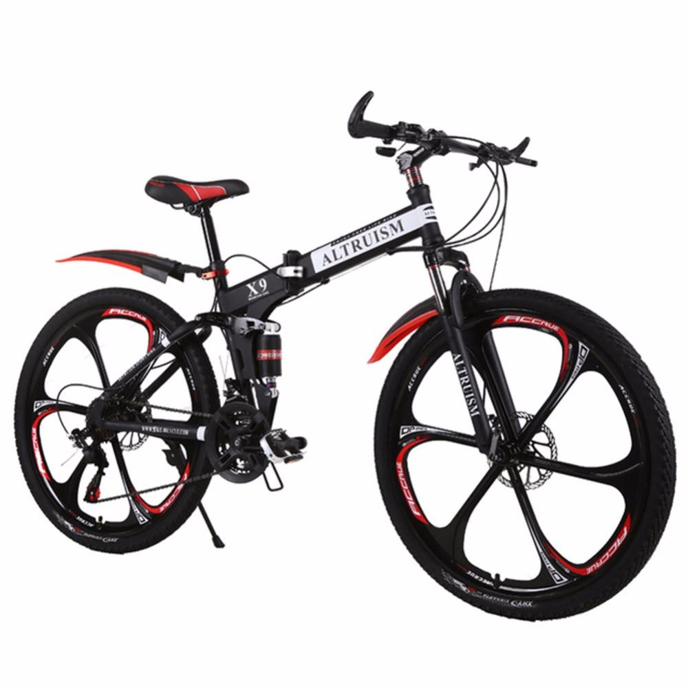 9867413a41e Hot Sale Altruism Mountain Bikes 26 Inch Steel 21 Speed Bicycles X9 Dual  Disc Brakes Variable Speed Road Bike Racing Bicycle Salsa Bikes Quad Bikes  From ...