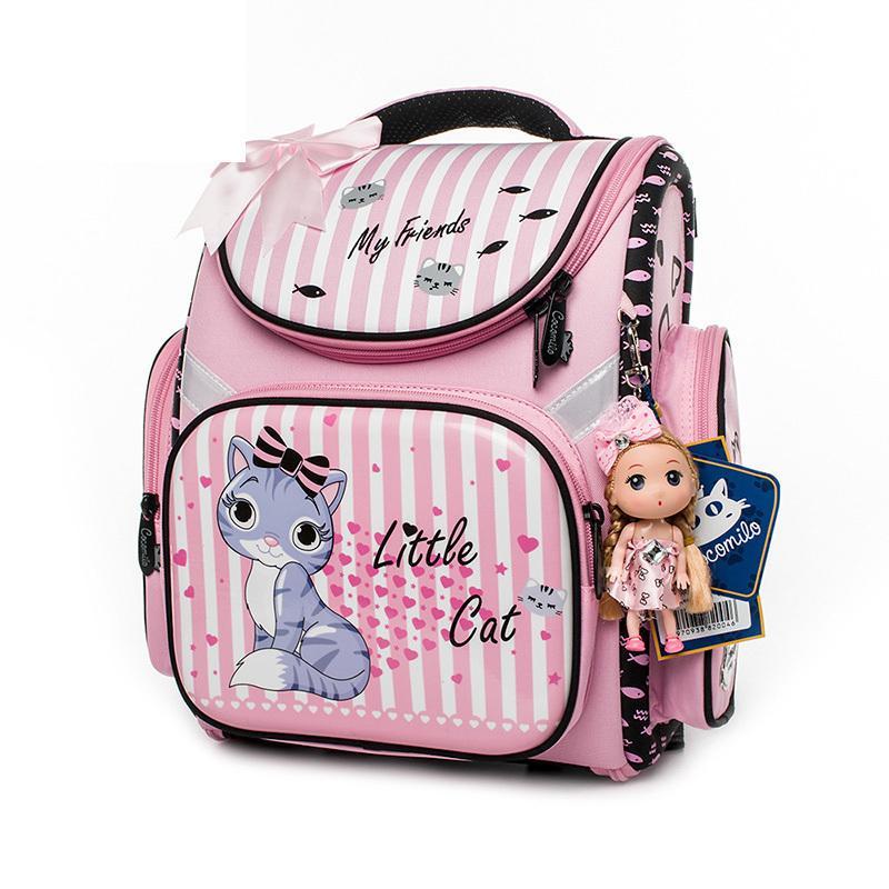7420390b36 Cocomilo Brand Children New Style Cartoon Cat Girls School Bags Waterproof  Foldable Orthopedic School Backpack Kids Cute Bolsas Toddler Backpack  Backpacks ...
