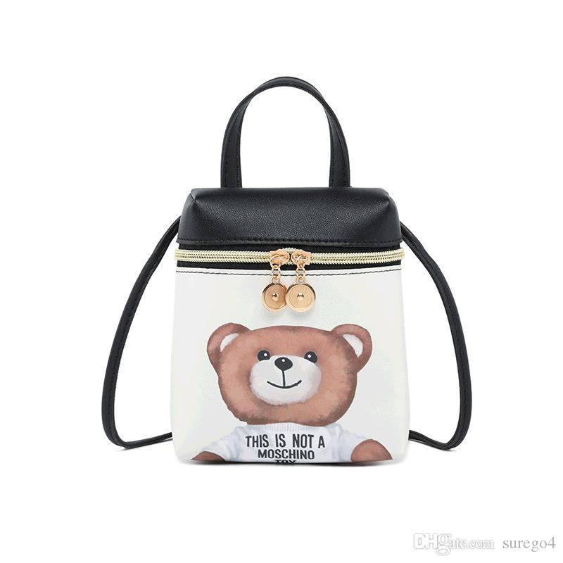 ba3f8860d5 2019 Fashion Korea Style Mini Backpack For Women Small Crossbody Bags For  Girls Over Shoulder Bag Cute For Female Cute Bear Dating Book Bags Herschel  ...
