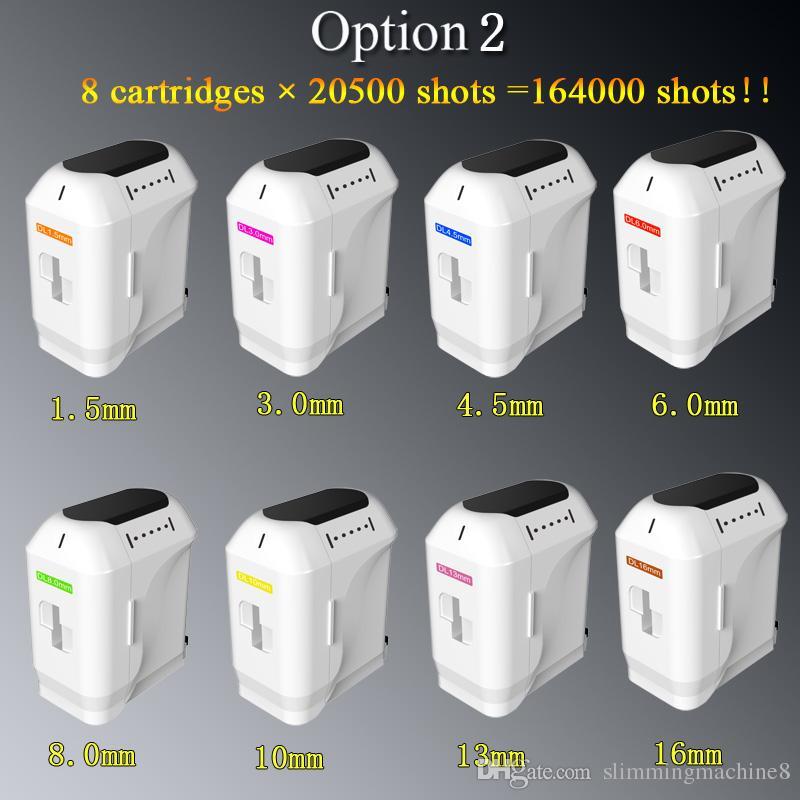 20500 shots cartridge!!! HIFU machine Face lifting wrinkle removal portable hifu machine ultrasound skin tightening machine body slimming