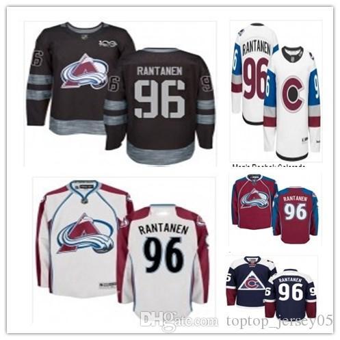 Can Colorado Avalanche Jerseys   96 Mikko Rantanen Jerseys Men WOMEN ... c622c63cf