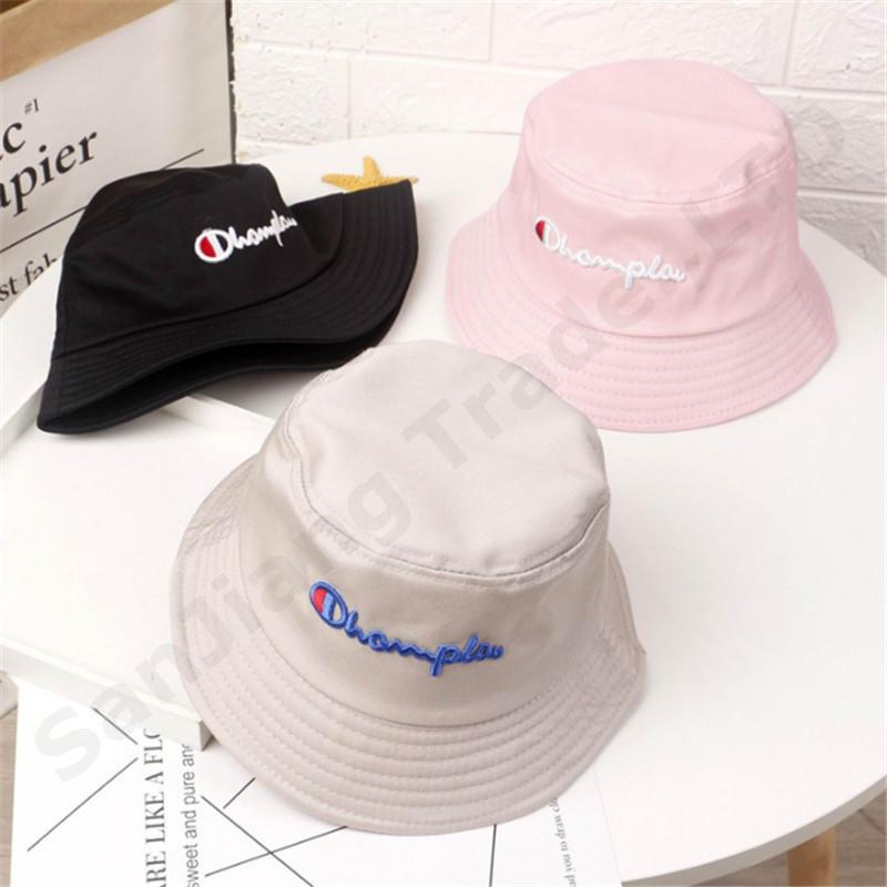 a69f1d05 2019 Kids Hat Champions Embroidery Bucket Hat Summer Caps Embroidery Visor  Fisherman Hats Boys And Girls Outdoor Baby Casual Cap Sale C3193 From  Good_case, ...
