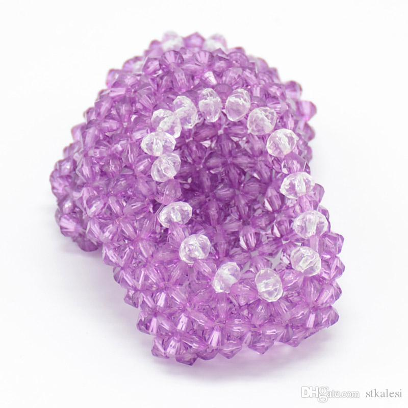 1c3854478d3fc 16 inchs to 18 inchs doll shoes for child party gift toys--Doll Clothes  Accessories manual bead purple doll shoes for American Girl