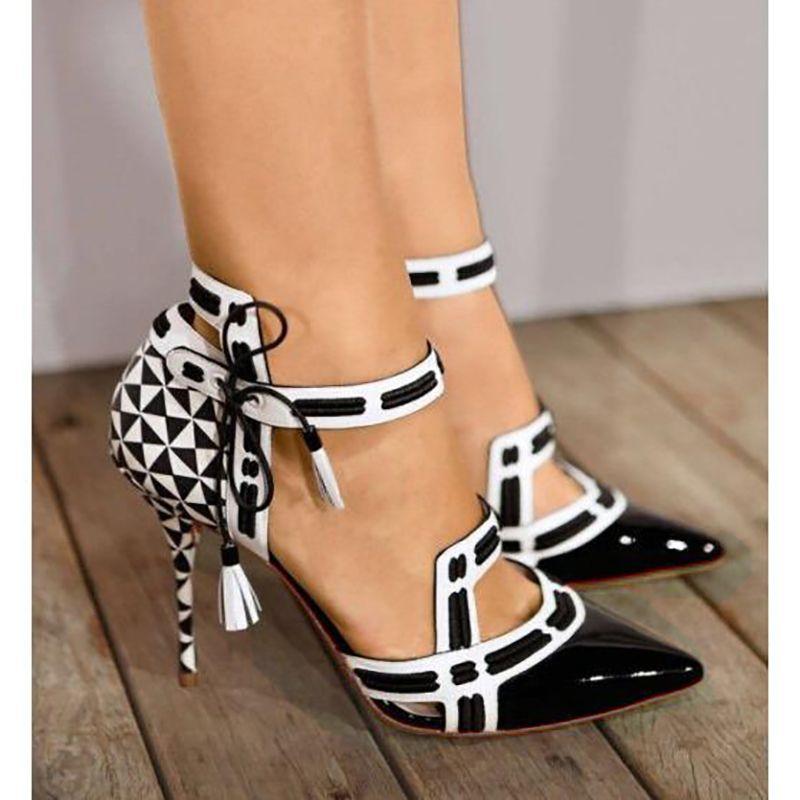 44312332ef619e Großhandel Großhandel Frauen Sommer Sandalen Mode High Heels Schuhe Pumps  Weibliche Dünne Fersen Schuhe Komfortable Spitz Schuhe SNC 026 Von  Chengdaphone009 ...