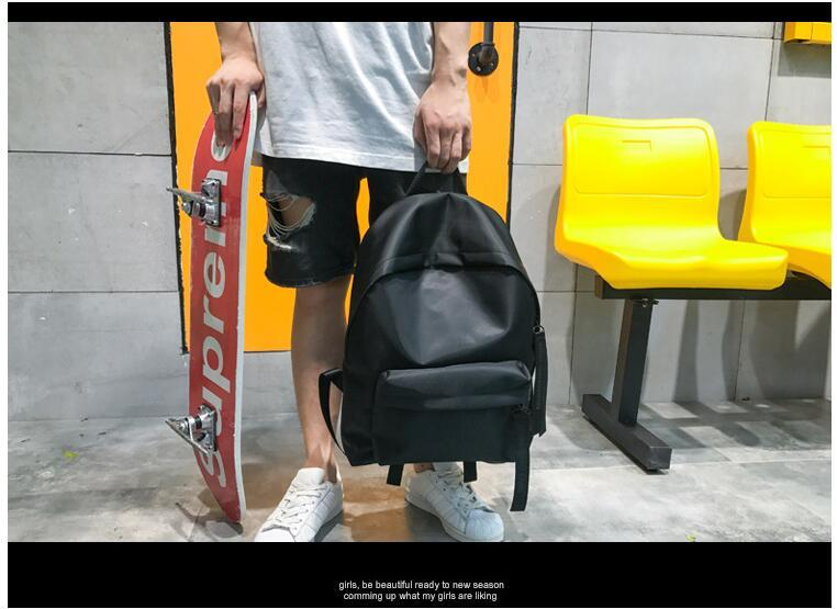 a53721a87071 2019 new tide brand backpack bag men and women fashion trend waterproof  nylon travel bag Korean student bag