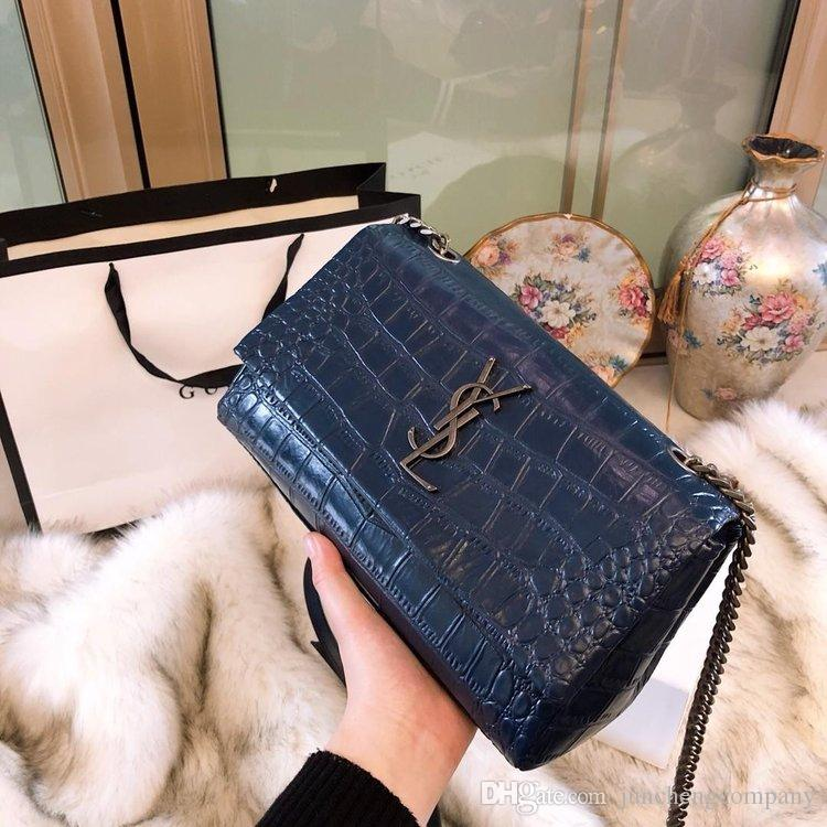 6f33ee50f49b Original 2019 AAAAA Luxury Famous Brand Designer Handbags Leather Sac À  Main Handbag Chain Bags Bag Shoulder Crossbody Purses Wallet 11883 Agent  Smart Watch ...