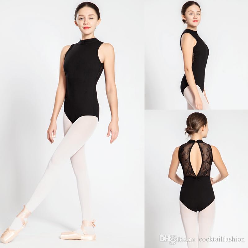 49d8abfc1 Gymnastics Leotard Women 2018 New High Quality Lace Dance Costume ...
