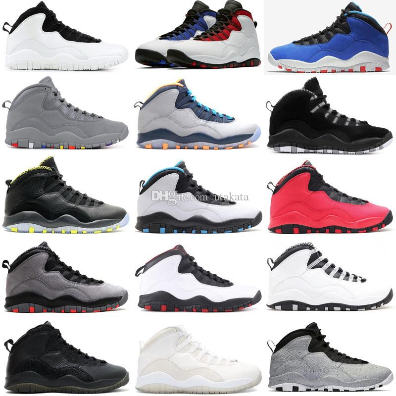 8f9b6f810172 Mens Basketball Shoes 10 Tinker Cement 10s Mens Shoes Bobcats Grey Chicage  Cool Grey Iam Back Powder Blue Trainers Sports Sneaker Size 7 13 Sports  Shoes For ...
