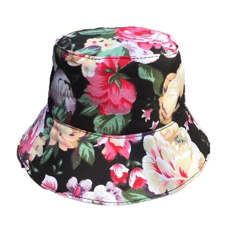 96ed78cc11c638 Flower Bucket Hat Hip Hop Hawaii Cap Fisherman Travel Outdoor Fishing Hats  Women Girls Hats And Caps Fedora Hats For Women From Value222, $39.46|  DHgate.Com