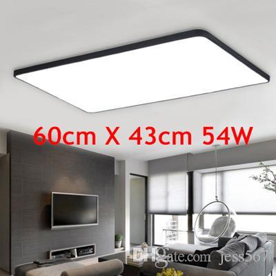 JESS ultradünne LED Square Deckenbeleuchtung Panel Lampe Beleuchtung für  das Wohnzimmer Decke für die Halle moderne Deckenleuchte hoch