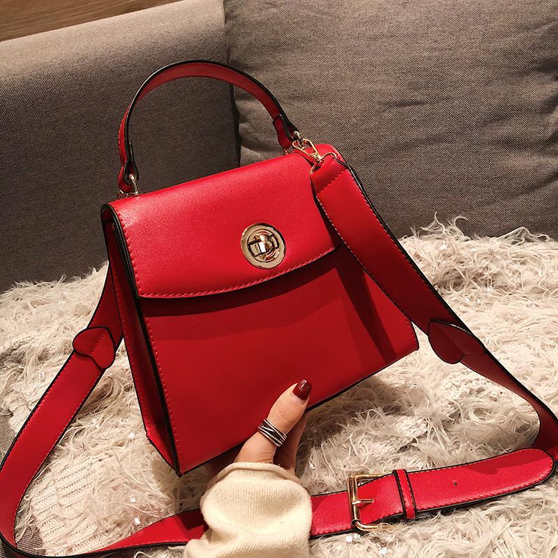 6c8670a4310e4 Großhandel Frauen Designer Handtasche 2019 Mode Neue Qualität Pu Leder Damen  Tote Tasche Hochzeit Rote Tasche Schulter Umhängetasche Crossbody Von  Clzone
