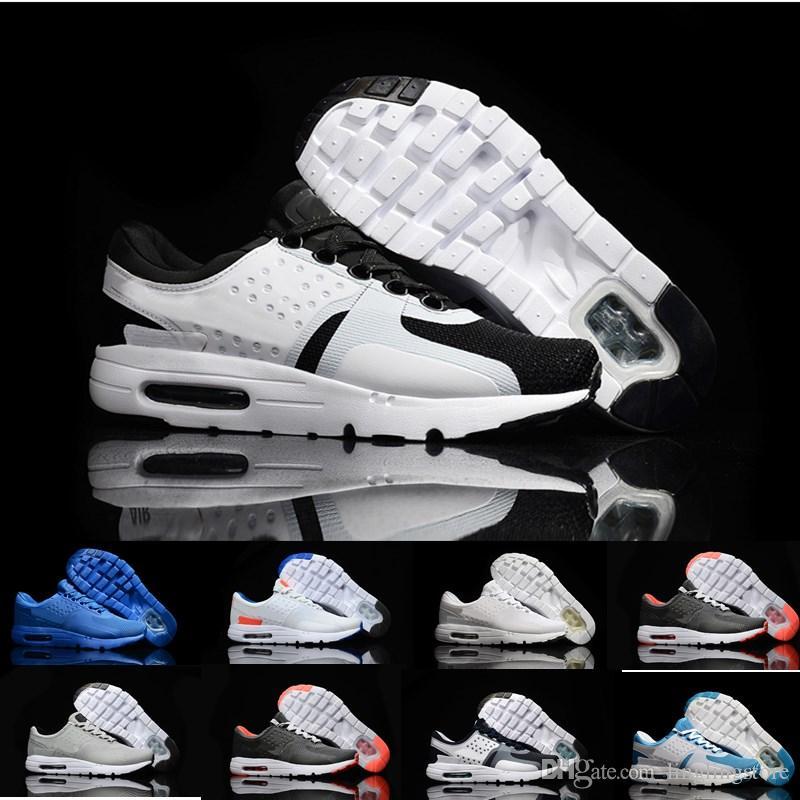 86077063e Compre Nike Air Max Zero Essential 87 Al Por Mayor Deportes Sanos Cómodos  Corriendo Casual Al Aire Libre Cero 2 Generación Zapatillas Deportivas  Hombres Y ...