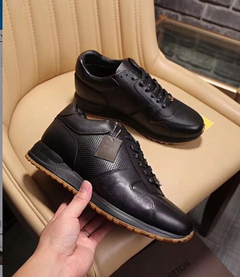 high quality Top Luxury Designer Flats Men Shoes Famous Fashion Style Genuine Leather Shoes Men Casual Shoes38-44