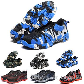 f9719cc896eec Durable Mens Womens Breathable Safety Shoes Economic Outdoor Industrial and  Construction Steel Toes Puncture Proof Men Designer Work Shoes